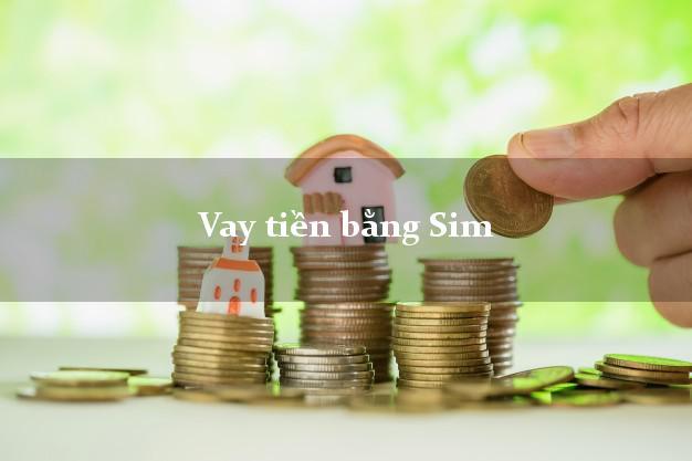 Hướng dẫn vay tiền bằng Sim