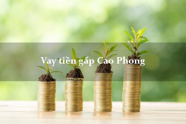 Vay tiền gấp Cao Phong Hòa Bình