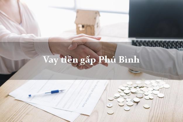 Vay tiền gấp Phú Bình Thái Nguyên