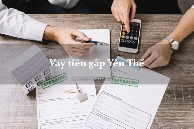 Vay tiền gấp Yên Thế Bắc Giang